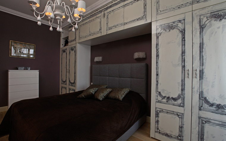 Квартира. спальня из проекта , фото №21298