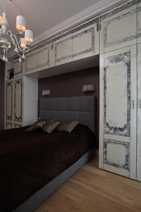 Квартира. спальня из проекта , фото №21299