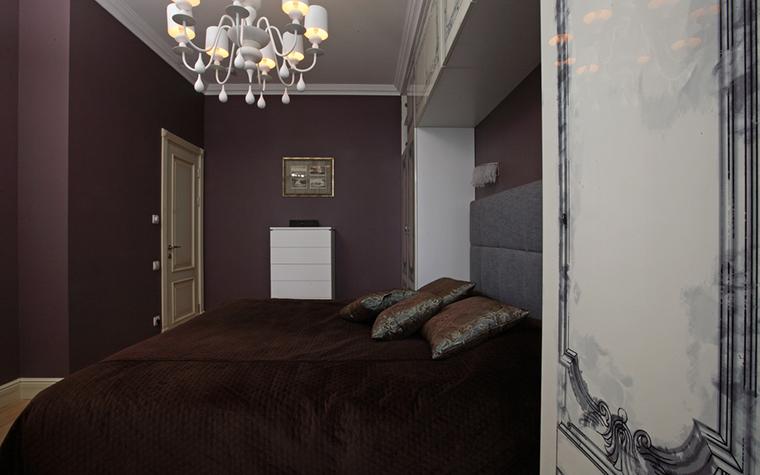 Квартира. спальня из проекта , фото №21300