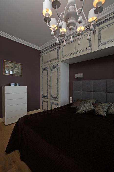Квартира. спальня из проекта , фото №21301