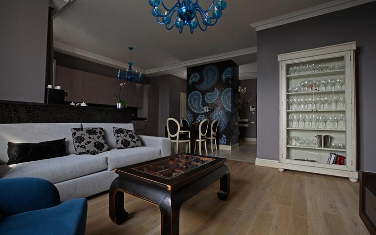 Квартира. гостиная из проекта , фото №21289