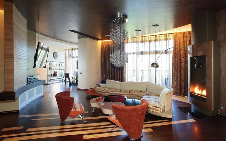 интерьер гостиной - фото № 21335