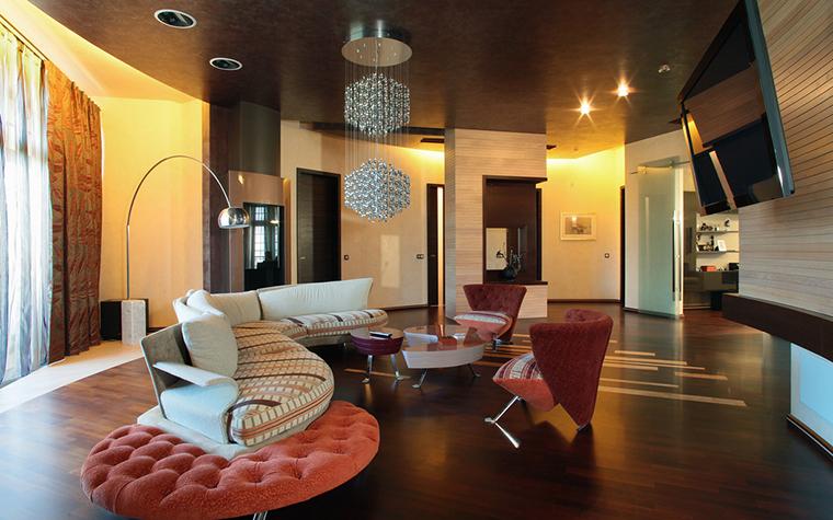 интерьер гостиной - фото № 21336