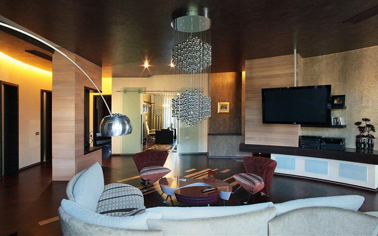 интерьер гостиной - фото № 21337