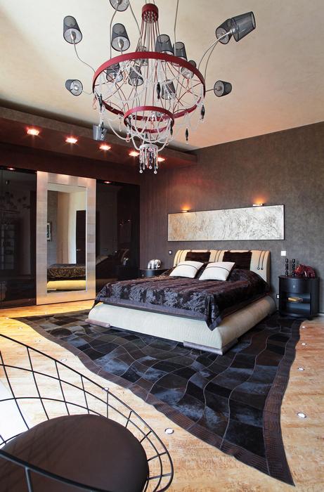 интерьер спальни - фото № 21339