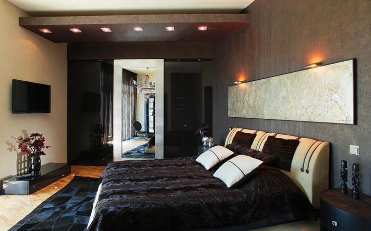 интерьер спальни - фото № 21340