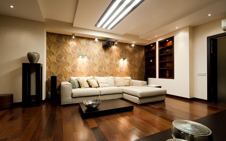 Квартира. гостиная из проекта , фото №21344