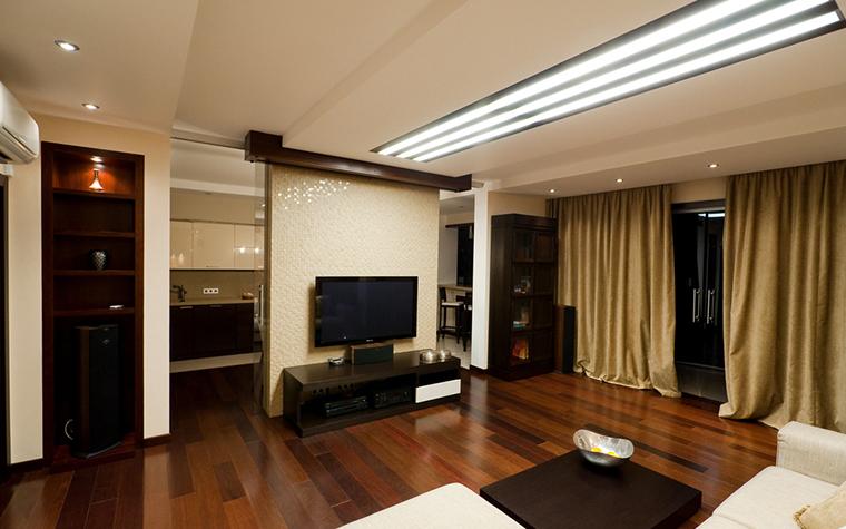 Квартира. гостиная из проекта , фото №21345