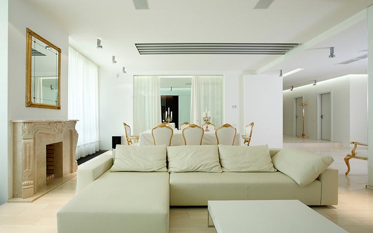 интерьер гостиной - фото № 21366