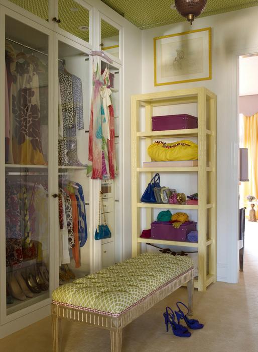 интерьер гардеробной - фото № 21420
