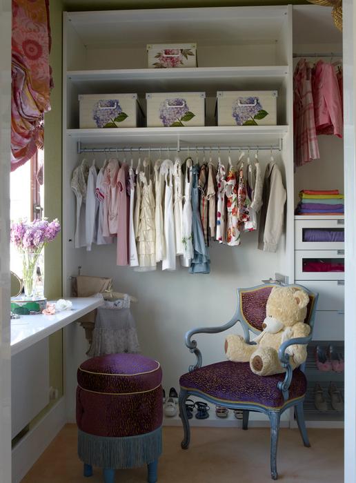интерьер гардеробной - фото № 21421
