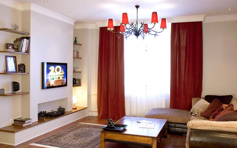 Квартира. гостиная из проекта , фото №21798