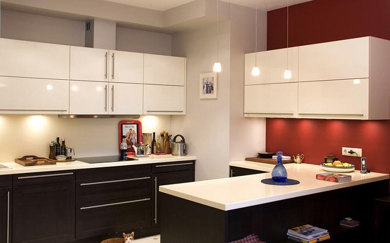 Квартира. кухня из проекта , фото №21799