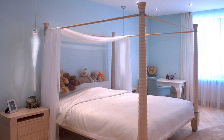 Квартира. спальня из проекта , фото №21819
