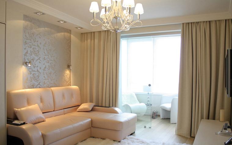 Квартира. гостиная из проекта , фото №21898