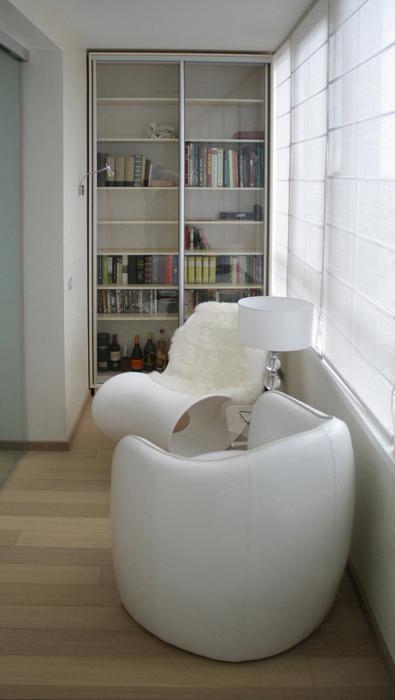 Квартира. веранда лоджия из проекта , фото №21904