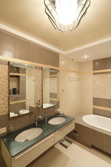 Квартира. ванная из проекта , фото №21917