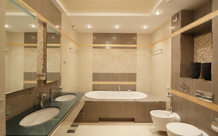 Квартира. ванная из проекта , фото №21916