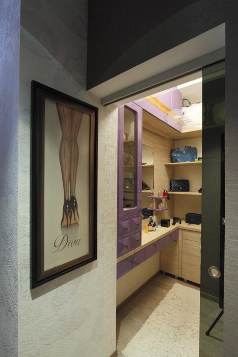 интерьер гардеробной - фото № 21926