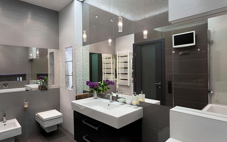Квартира. ванная из проекта , фото №21970