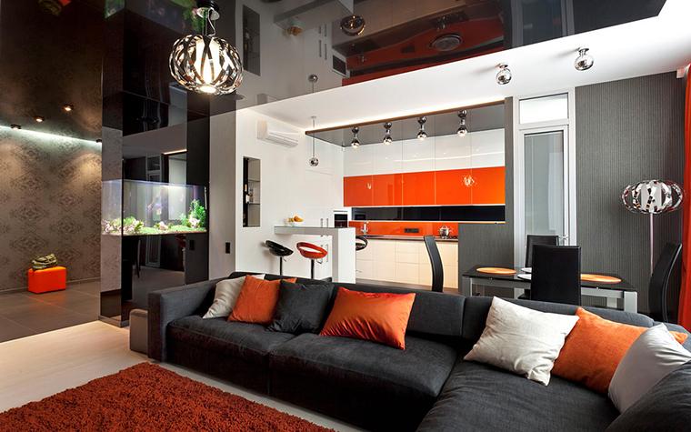 Квартира. гостиная из проекта , фото №21963