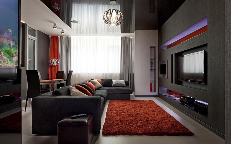 Квартира. гостиная из проекта , фото №21961
