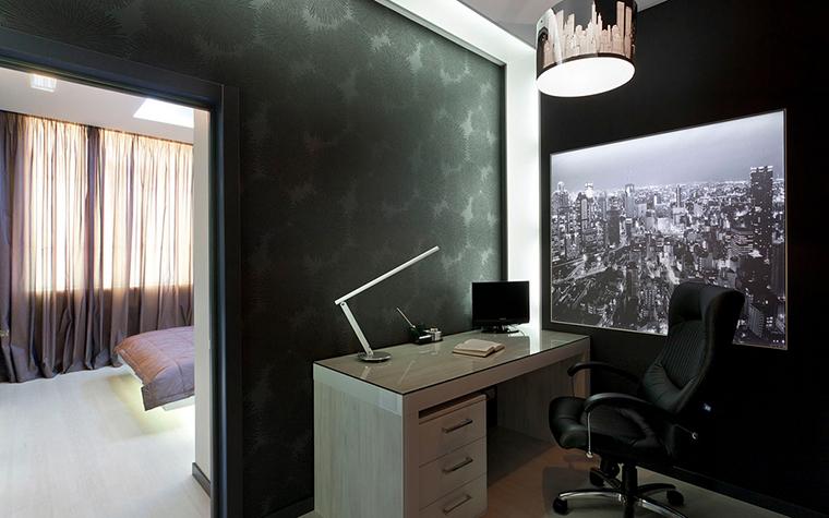Квартира. кабинет из проекта , фото №21974