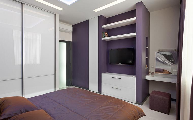 интерьер спальни - фото № 21965