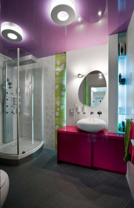 Квартира. ванная из проекта , фото №21990