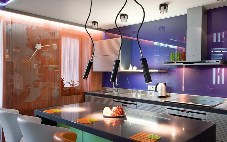 Квартира. кухня из проекта , фото №21981