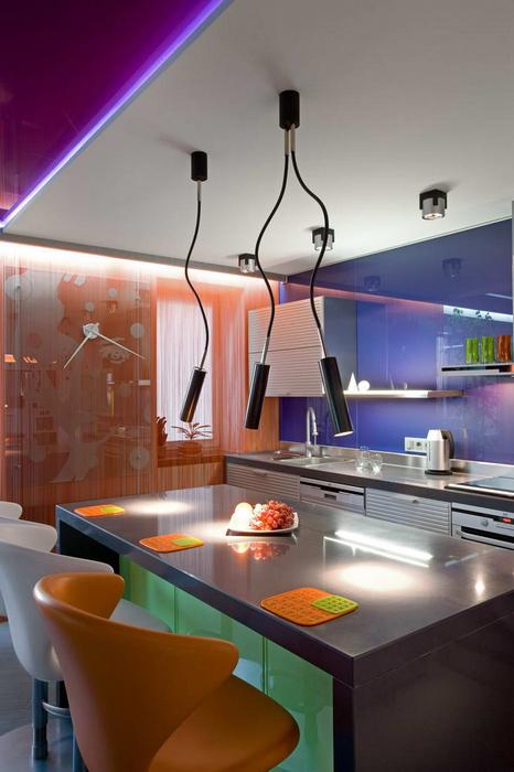 Квартира. кухня из проекта , фото №21982
