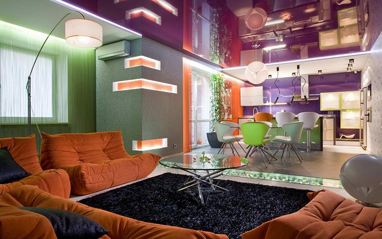 Квартира. гостиная из проекта , фото №21979