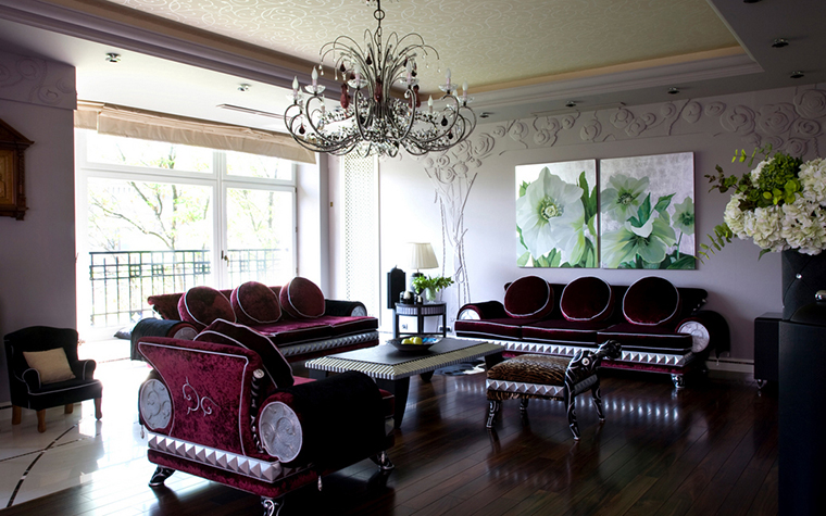 интерьер гостиной - фото № 22113