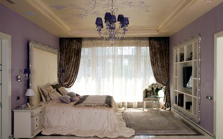 Квартира. спальня из проекта , фото №22123