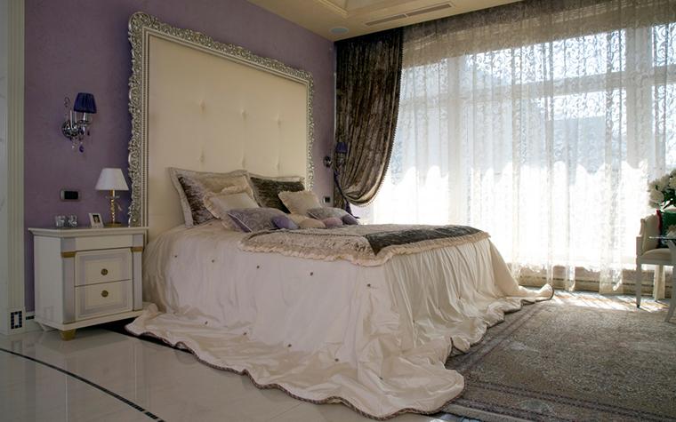Квартира. спальня из проекта , фото №22126