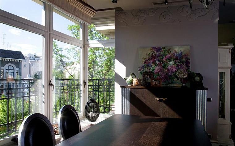 Квартира. столовая из проекта , фото №22122