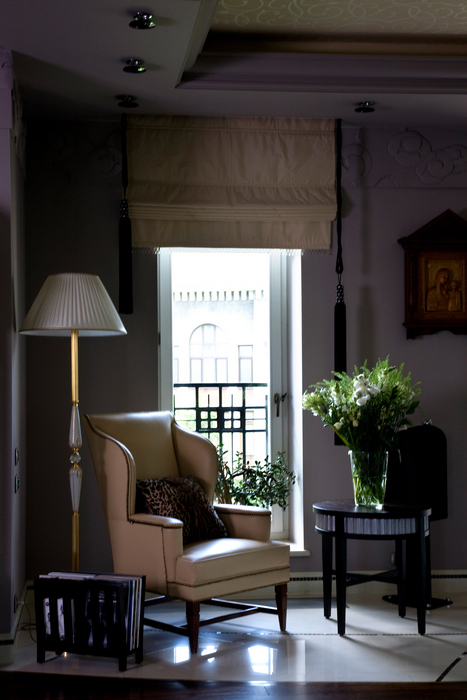 Картины в интерьере гостиной