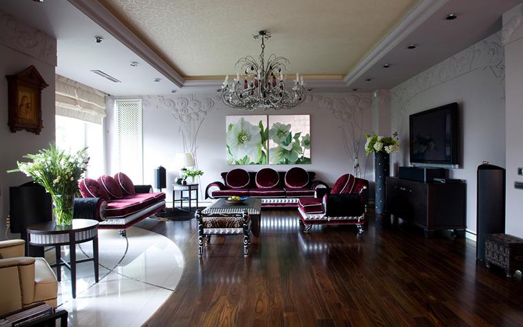 Квартира. гостиная из проекта , фото №22115