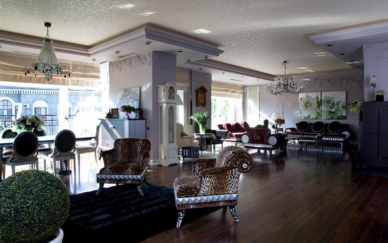 Квартира. гостиная из проекта , фото №22117