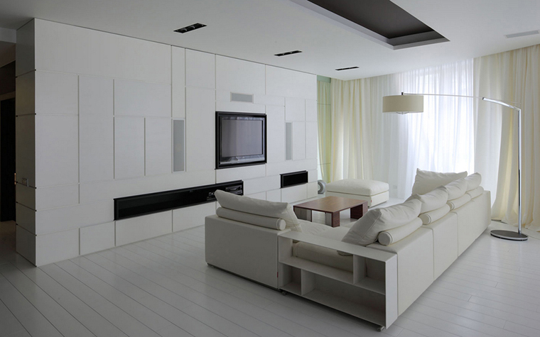 Квартира. гостиная из проекта , фото №22159