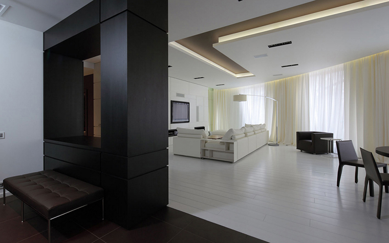 Квартира. гостиная из проекта , фото №22160