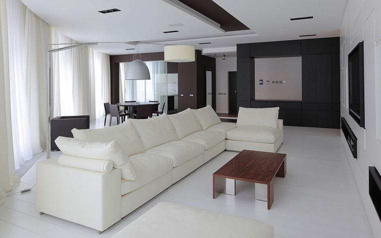 Квартира. гостиная из проекта , фото №22161