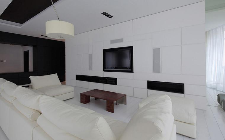 Квартира. гостиная из проекта , фото №22162