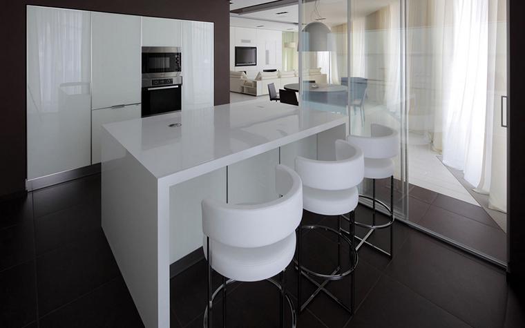 Квартира. кухня из проекта , фото №22168
