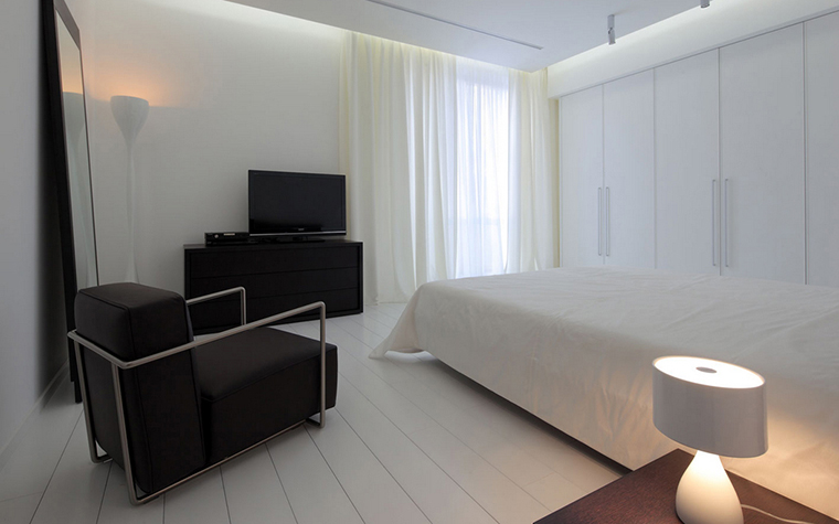 Квартира. спальня из проекта , фото №22170