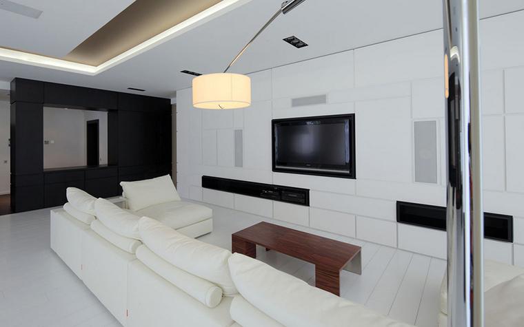 Квартира. гостиная из проекта , фото №22153