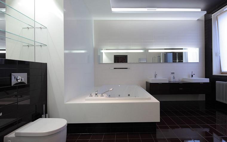 Квартира. ванная из проекта , фото №22181