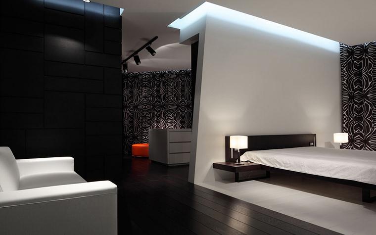 Квартира. спальня из проекта , фото №22178