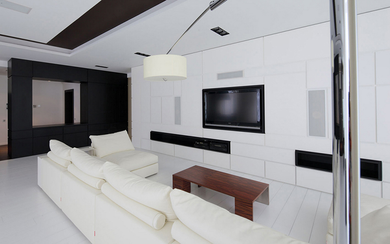 Квартира. гостиная из проекта , фото №22154