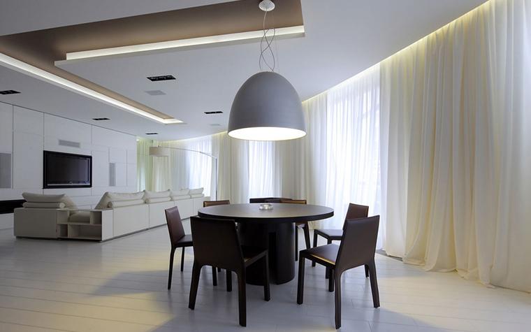 Квартира. столовая из проекта , фото №22164